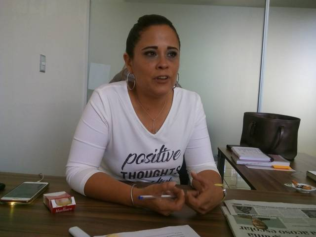 Michaelle Brito convoca a marcha en Tlaxco