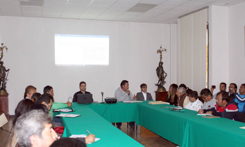 Agustín Nava Huerta encabeza mesa de trabajo de cultura física y deporte