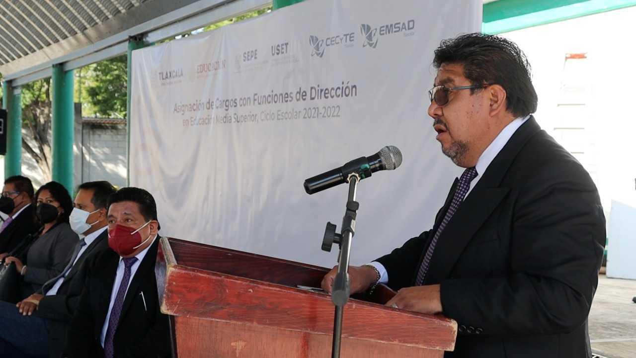 Entrega titular de Cecyte-Emsad nombramientos a directivos de planteles