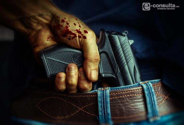 Hieren por disparos a sujeto en intento de asalto en Metepec
