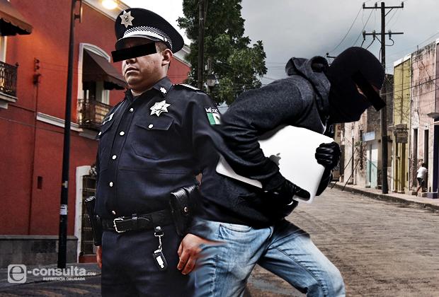 En persecución y balacera, frustra PGJE robo de camioneta en la Y griega