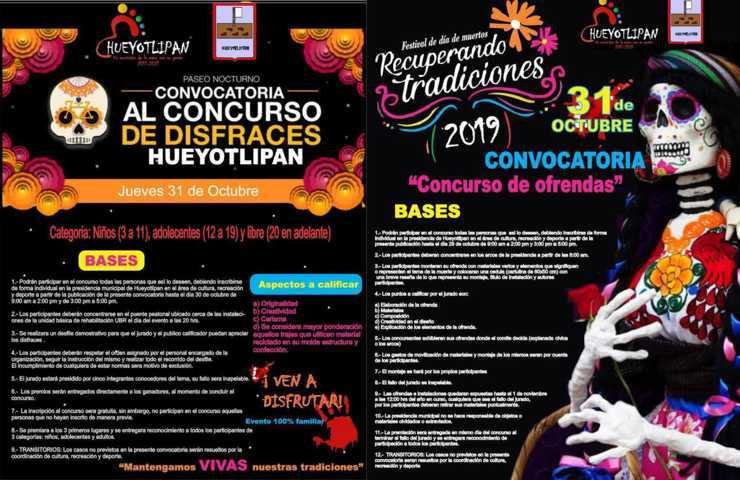 Festival de Día de Muerto Recuperando Tradiciones llega este 31 de octubre a Hueyotlipan