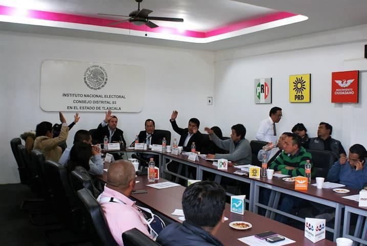 Designa INE Tlaxcala a capacitadores para proceso electoral 2017-2018