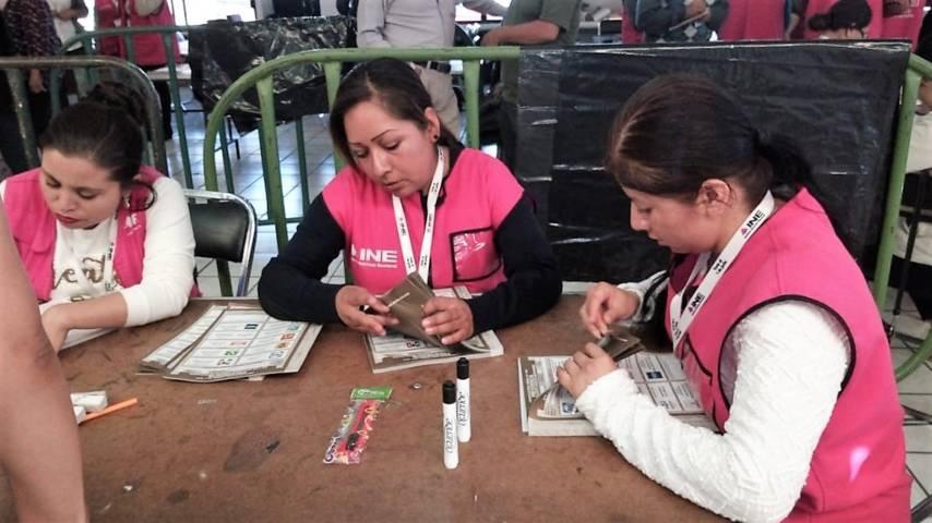 Sin contratiempos avanzan cómputos distritales del INE en Tlaxcala