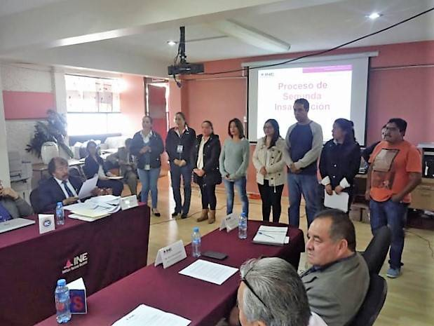 INE Puebla inicia segunda etapa de capacitación