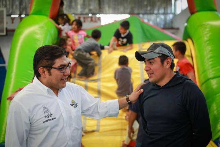 Más de 3 mil 500 niños festejan en Totolac