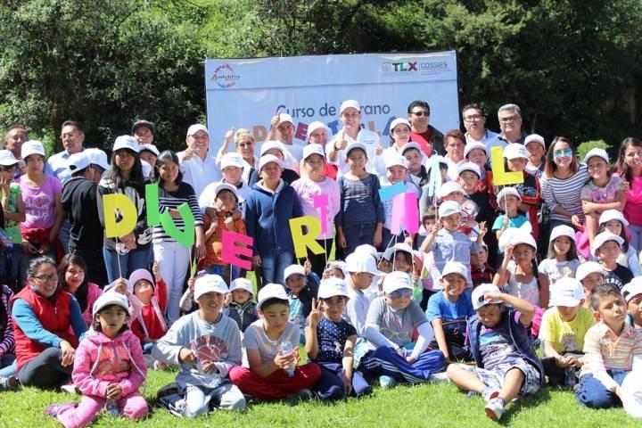 Inauguran Eloy Reyes y  Coral Cuatepotzo curso de verano