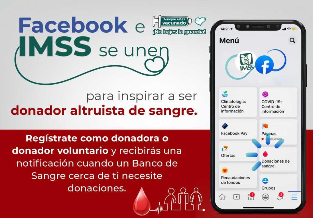 Invita IMSS Tlaxcala a ser donador de sangre, órganos y tejidos