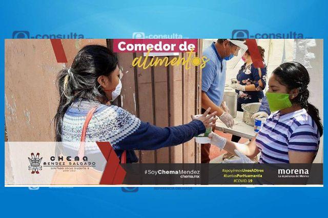 Se desploma la actividad laboral en Huamantla por la contingencia sanitaria
