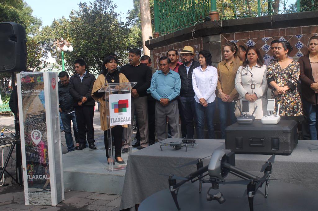 Para obras y embellecimiento urbano cuotas de parquímetros en la capital