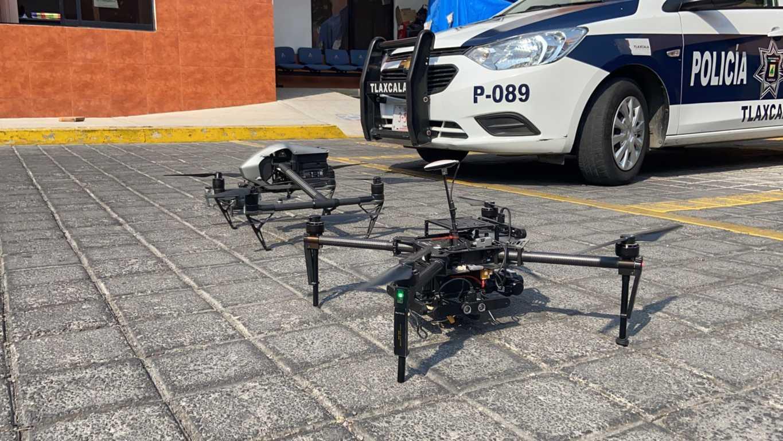 Drones de la capital siguen trabajando para salvaguardar a la ciudadanía