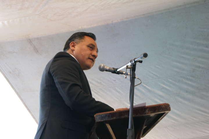 Toma protesta Eleazar Molina como Presidente Municipal de Tetla