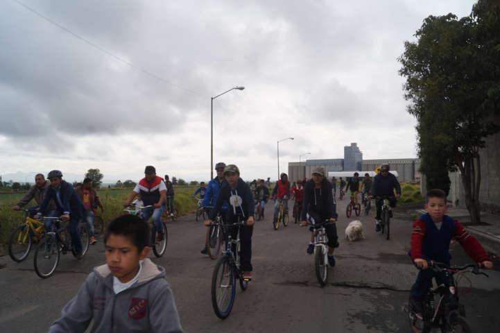 """Calpulalpan se suma al paseo ciclista """"Tlaxcala sobre ruedas"""""""