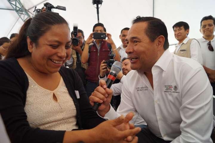 El estado avanza por la generación de empleos: Luis Miranda