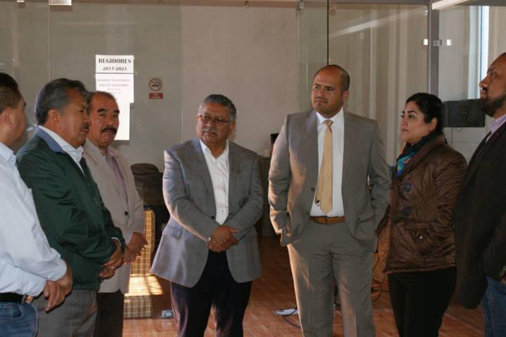 Se reúne presidente de Contla con la Secretaría de Gobierno
