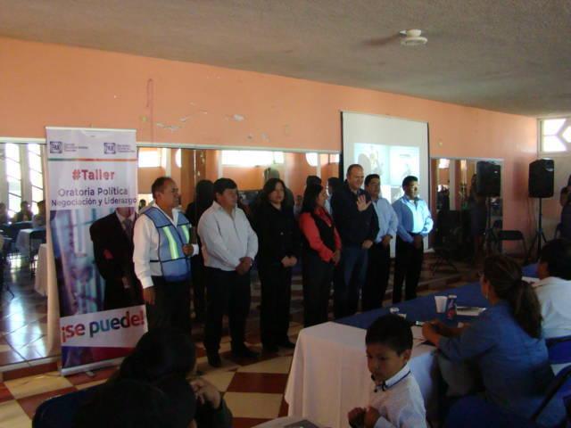 Juan Corral dio banderazo de inicio de obras públicas en Tenancingo