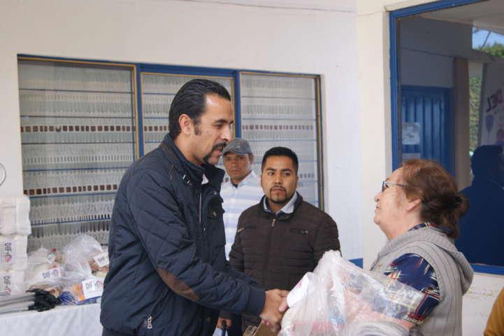 Apoyando a las familias de Tlaxco tenemos el valor de ayudar: PYZP