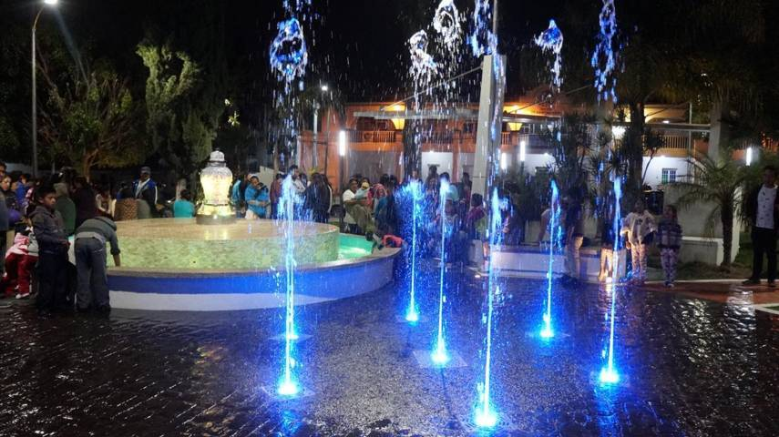 Presidente Municipal inaugura parque recreativo En Tlaltepango, San Pablo Del Monte