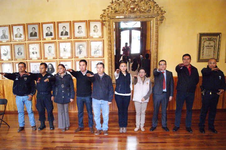 Toma protesta Consejo Municipal de Seguridad Pública de Tlaxco