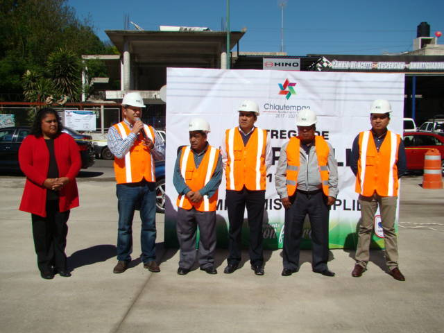 Compromisos de Juan Corral en Chiautempan son una realidad