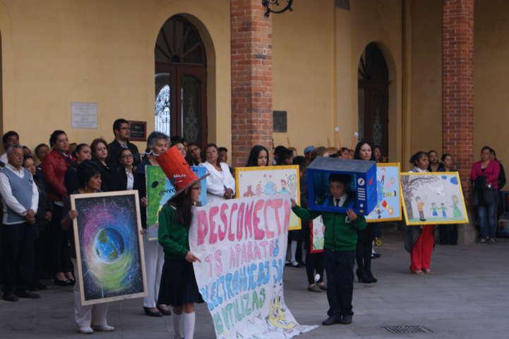 Celebra Tlaxco el Día Mundial de la Madre Tierra