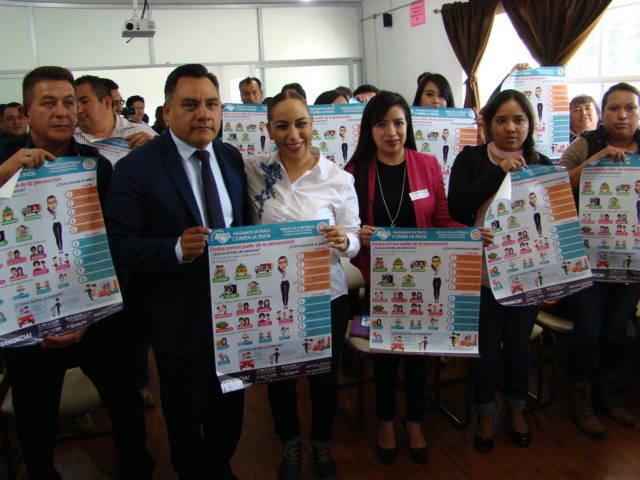 Llegó a Tetla la Campaña Hagamos un Trato Contra la Trata