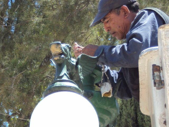 Ayuntamiento de Huamantla rehabilitará cerca de 900 luminarias