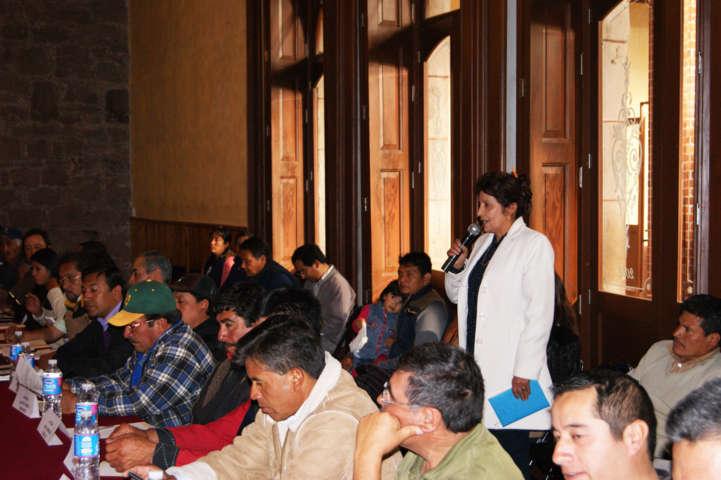 Nombra Cabildo como cronista de Tlaxco a Guadalupe Flores