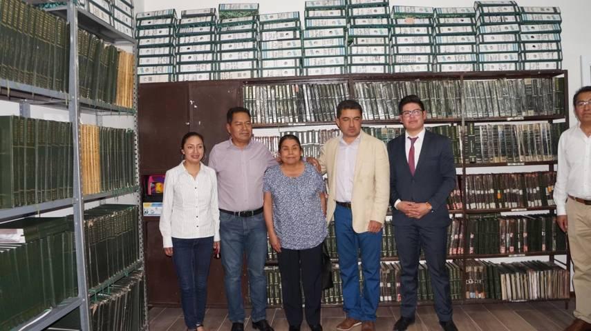 Cano Coyotl inaugura nuevas oficinas de registro civil en San Pablo del Monte