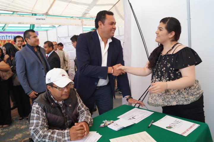 Realiza SEPUEDE Jornada de Empleo en Huamantla
