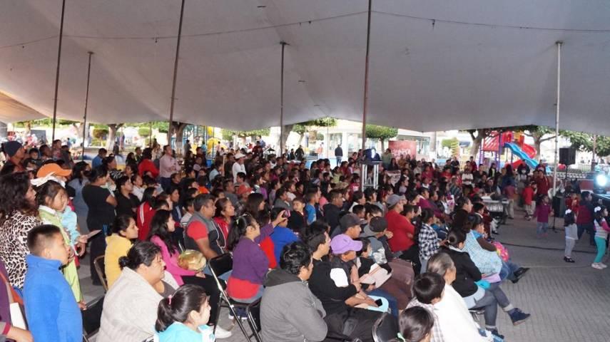 Se presenta en San Pablo del Monte el 32 Festival Internacional de Titeres Rosete Aranda