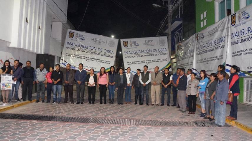 Gobierno municipal entrega rehabilitación de la Avenida Xicoténcatl en SPM