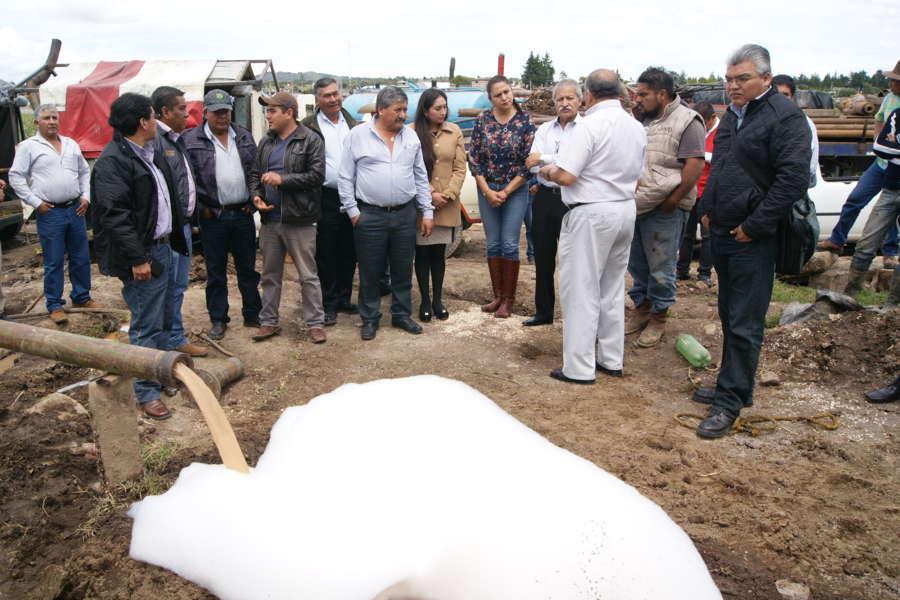Realizan asamblea de usuarios de Aguas Nacionales porción Tlaxcala en Nanacamilpa