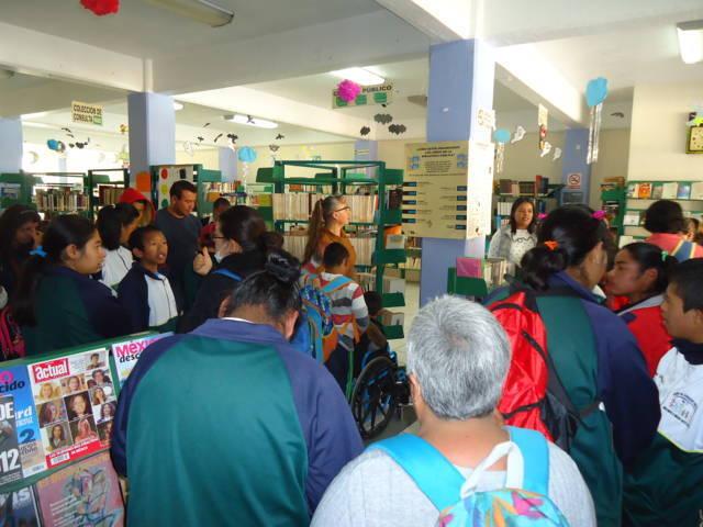 Ayuntamiento fomenta actividades recreativas en la Biblioteca pública