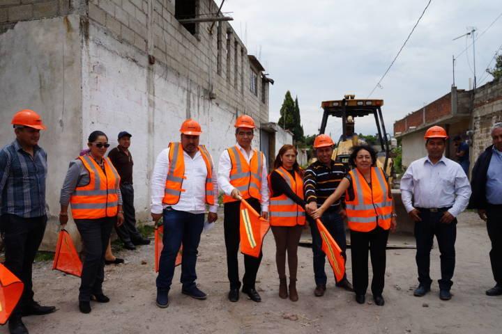 Con infraestructura básica mejoramos la calidad de vida de los pobladores: alcalde