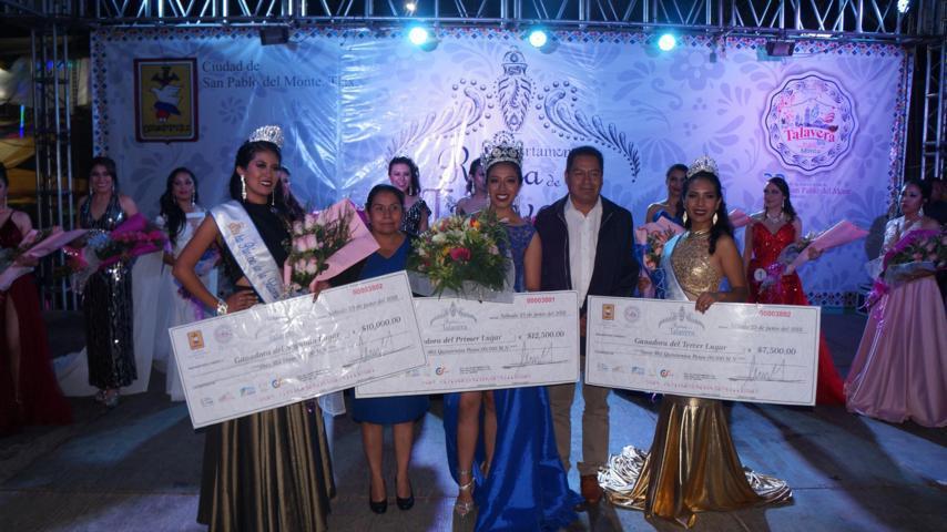 Lizeth Tlatelpa nueva Reina de la Talavera 2018, San Pablo del Monte