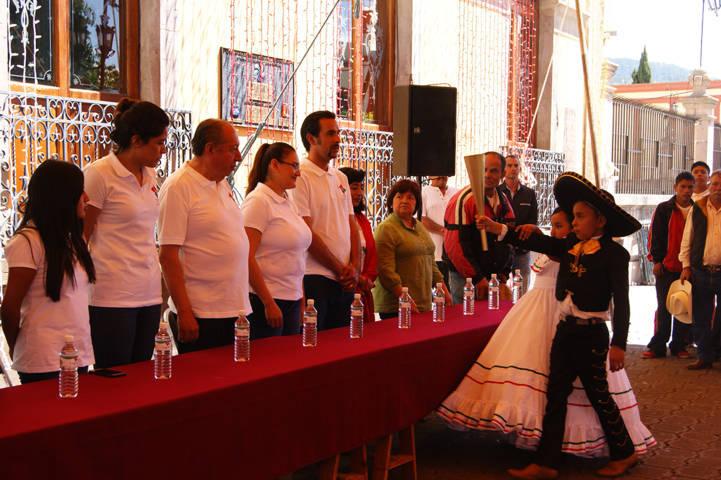 Destaca Gardenia Hernández que la llama de Independencia la encendió la Primer Mexicana Libre