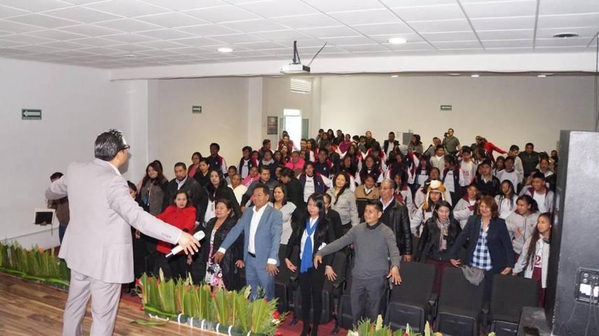 Realizan foro Conéctate con niños y Adolescentes en el uso de Internet en San Pablo del Monte