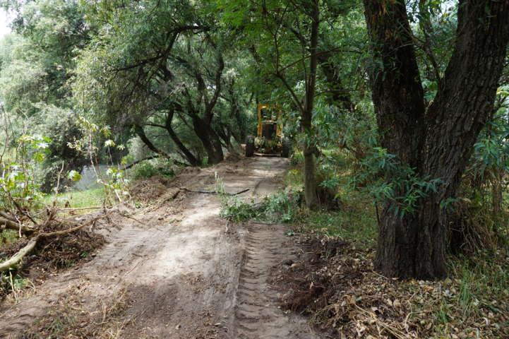 Alcalde apoya a campesinos rehabilitando caminos saca cosechas