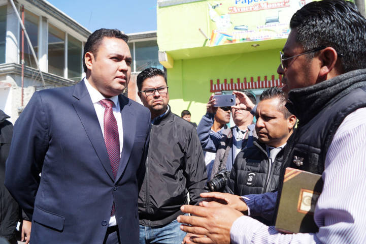Escucha titular del Sepuede a pobladores de Zitlaltepec tras informe accidentado del alcalde