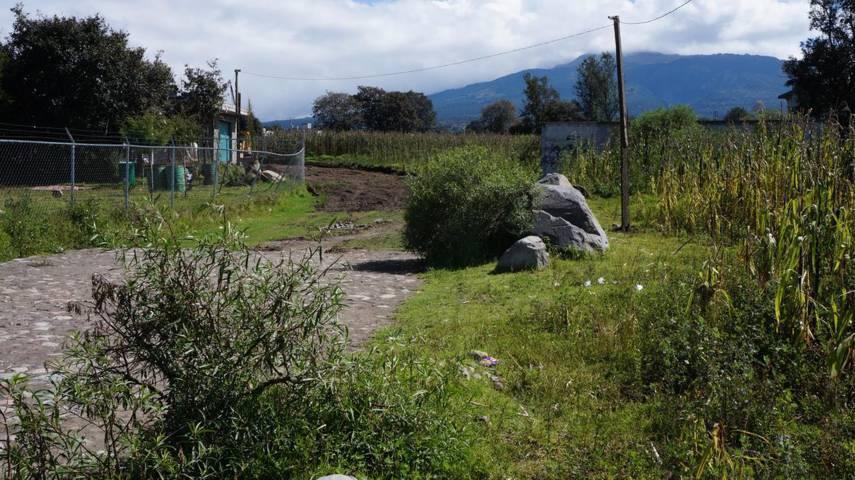 Aperturan la Calle Cecyte en el municipio de San Pablo Del Monte