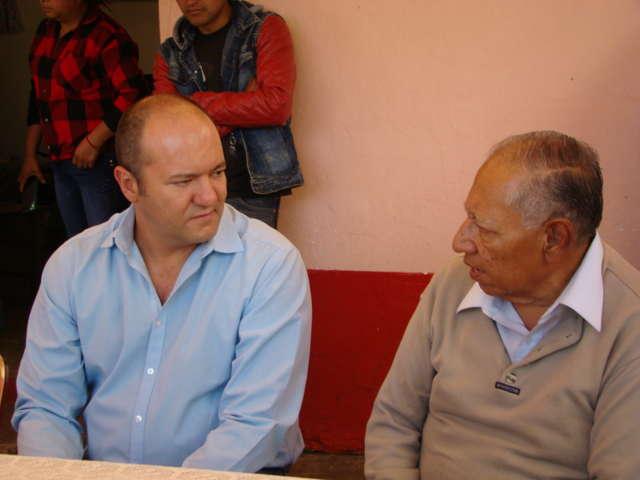 Fortalece diputado federal Juan Corral acciones de acercamiento con la gente