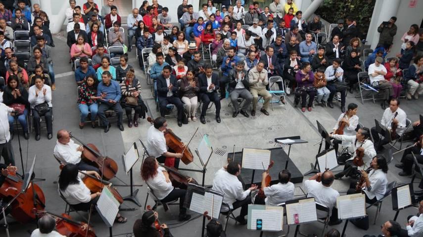 Presidente Municipal inaugura Escuela De Musica Manuel Maria Ponce en SPM