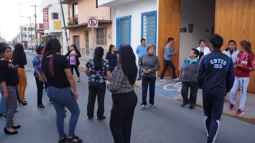 Sistema Municipal DIF de San Pablo Del Monte lleva a cabo simulacro de sismos