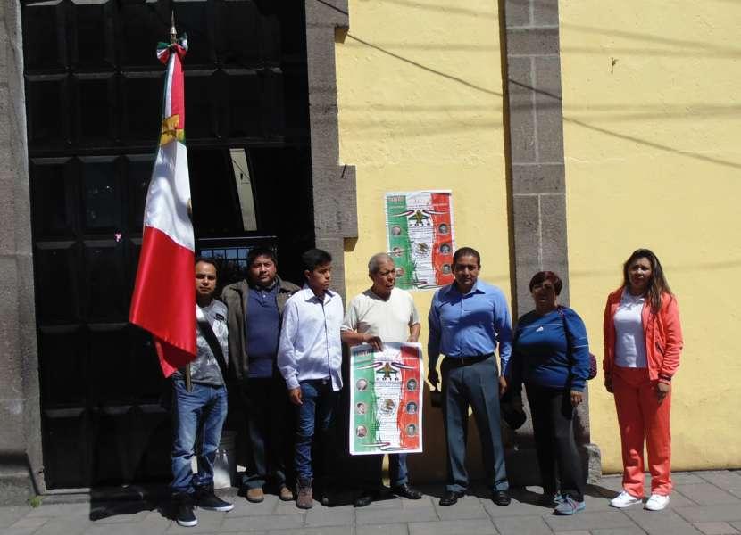 Fijan bandos de las fiestas patrias en Amaxac