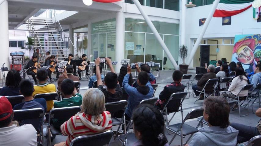 Orquesta Érase Una Vez, se presenta en el municipio de San Pablo Del Monte