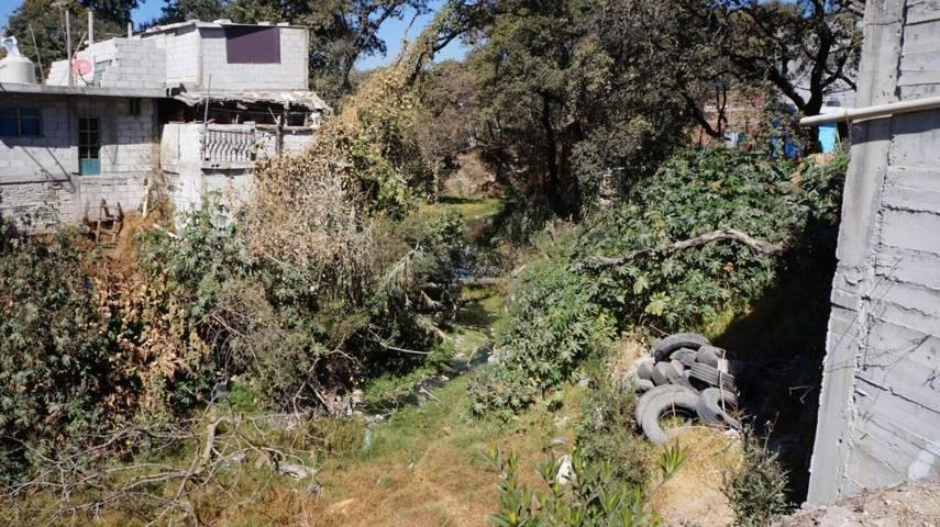 Ayuntamiento de San Pablo del Monte desazolva barranca de San José el Conde