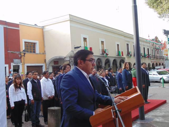 Conmemora Alcalde de Totolac 196 Aniversario de la Consumación de la Independencia