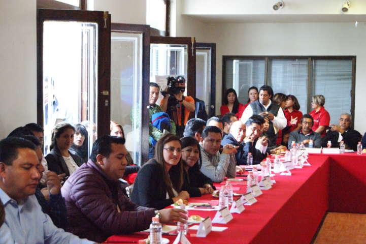 Gardenia presidenta de la Red Tlaxcalteca de Municipios por la Salud
