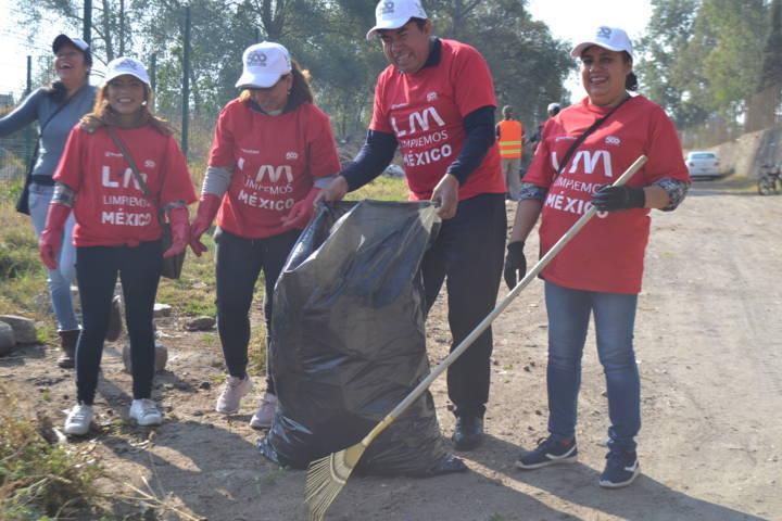 Ayuntamiento de Tlaltelulco se sumó a la campaña Limpiemos México